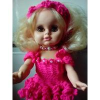 Шикарная винтажная кукла