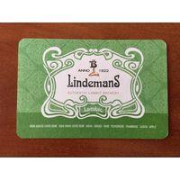 Подставка под пиво Lindemans No 6