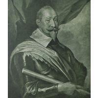 Густавъ Адольфъ,король Швеции 28х28см.