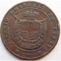 9. Тоскана 5 сентесими 1859 год