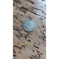 АВСТРО-ВЕНГРИЯ 10 крейцеров 1868 год(серебро)