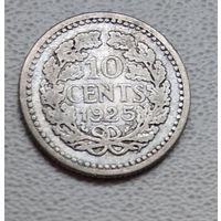 Нидерланды 10 центов, 1925 6-4-25