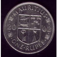 1 Рупия 2002 год Маврикий
