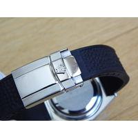 """Rolex (replica) застежка """"бабочка"""" для наручных часов (на каучуковый ремешок)"""