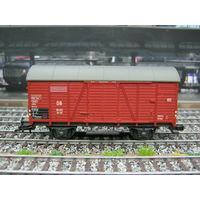 Грузовой вагон Fleischmann(1).Масштаб HO-1:87.