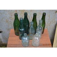 Бутылки из середины прошлого столетия