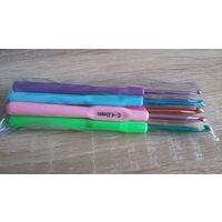 Крючок для вязания набор новый из 6 шт