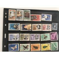 Лот марок Румынии 7.  Много чистых дорогих марок. Все на фото. С 1 руб!