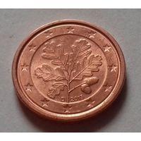1 евроцент, Германия 2013 D, UNC