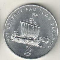 Северная Корея 1/2 чон 2002  Корабль викингов