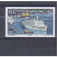 [1993] Швеция 1998. Корабль.