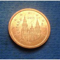 Испания 2 евроцента 2015