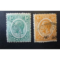 ВЕЛИКОБРИТАНИЯ.Ямайка \147м\1912\27. Стандарт. Король Георг V.
