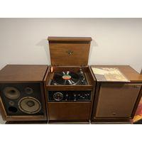 Уникальная винтажная аудио система (1969 г) VICTOR SSL-66D / JVC / HI-FI -из Японии