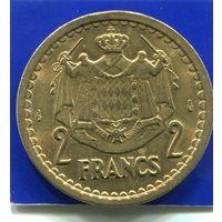 Монако 2 франка 1945 , VF