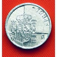 03-27 Испания, 1 песета 1994 г.