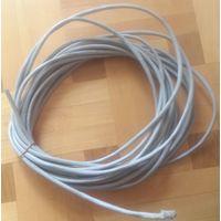 Провод сетевой LAN CAT 5E CAT5E c экраном (11,9 метров) ТОРГ, могу обжать рж45