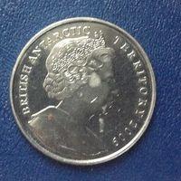 Британская антарктическая территория 2 фунта 2009 года. Договор об Антарктике