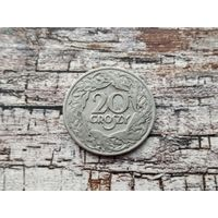 Польша. 20 грошей 1923 (магнетик).