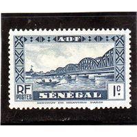 Сенегал. Ми-118. Мост Faidherbe. 1935.