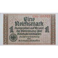 1 Рейхсмарка -1940-е *- III Рейх -Германия- *-AU-практически идеальная-