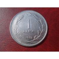 1 лира 1972 год Турция