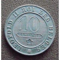 10 сантимов 1898 Бельгия