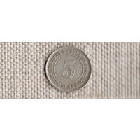 Стрэйт Сеттлменс 5 центов 1910(серебро)(Nv)