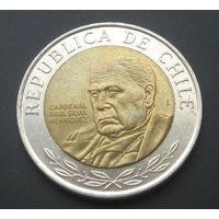 Чили 500 песо. 2015г.