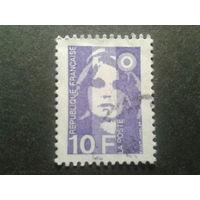 Франция 1990 стандарт 10F