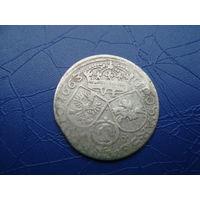 6 грошей (шостак) 1663 (2)