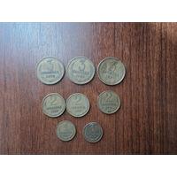 Монеты 3 коп,2 коп,1 коп,СССР