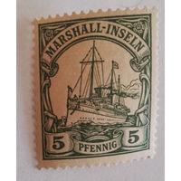Маршаловы острова, немецкая колония, история, распродажа