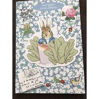 Английский ежедневник Peter Rabbit кролик Питэр