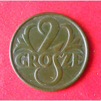 Польша, 2 гроша 1928