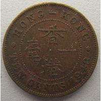 Гонконг 10 центов 1948 г. (m)