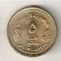 Судан 5 динар 2003