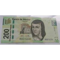 Мексика 200 песо 2016 года (UNC)
