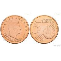 5 евроцентов 2011 Люксембург UNC из ролла