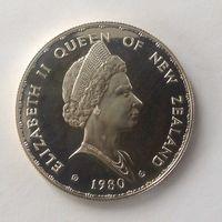 Новая Зеландия 1 доллар 1980г