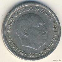5 песет Испания 1957