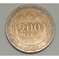 Западная Африка 200 франков 2004