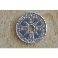 Новая Гвинея 1 шиллинг 1935(серебро)