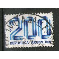 Аргентина. Гашеная. Лот-44