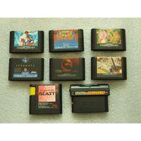 Оригинальные картриджи Sega Mega Drive! Супер цена!!!