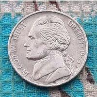 США 5 центов 1995 года, D. Франклин Бенджамин.