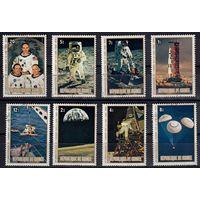 1979 г Гвинея космос 10 лет полёта Аполлона-11 гаш