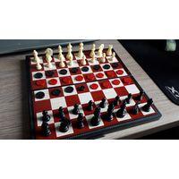 Магнитные шахматы, шашки, нарды.