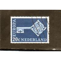 Нидерланды.МИ-899.C.E.P.T.- Ключ. Серия: Europa (C.E.P.T.) 1968.