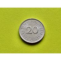 Маврикий. 20 центов 2005.